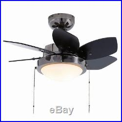 Ceiling Fan with Light Kit Westinghouse Quince 24, Reversible Six Blade Indoor