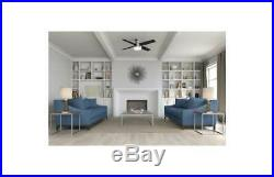 Ceiling Fan with Light Kit and Remote in Brushed Nickel Finish ID 3914810