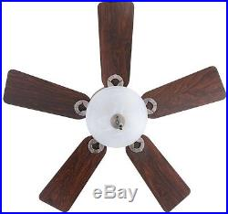 Conroy Ceiling Fan with Light Kit 42 in. Indoor Antique Pewter Low Profile
