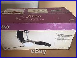 Craftmade JU54W3 Juna 54 Ceiling Fan With Remote And Light Kit