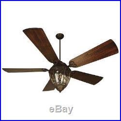 Craftmade K10337 Olivier 70 Outdoor Ceiling Fan With Remote And Light Kit