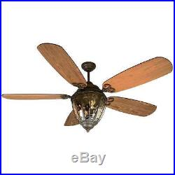 Craftmade K10522 Olivier 70 Outdoor Ceiling Fan With Remote And Light Kit