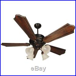 Craftmade K10773 Townsend 56 Ceiling Fan With Remote And Light Kit