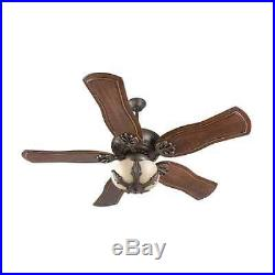Craftmade K11143 Cordova 54 5 Blade Indoor Ceiling Fan with Light Kit and Blades