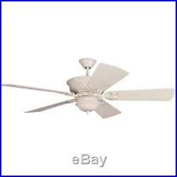 Craftmade K11247 Pavilion 54 5 Blade Outdoor Ceiling Fan with Light Kit & Blades