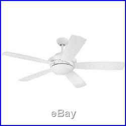 Craftmade TMP52W5 Tempo 52 Ceiling Fan With Remote And Light Kit
