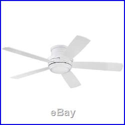 Craftmade TMPH52W5 Tempo Hugger 52 Ceiling Fan With Remote And Light Kit