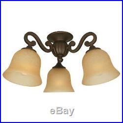 Craftmade Universal Fan Light Kit, Aged Bronze LK49-AG-LED