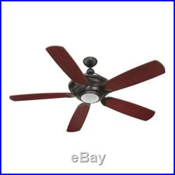 Craftmade VS60OB5 Vesta 60 Ceiling Fan With Remote And Light Kit
