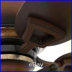 Eastvale 52 in. Indoor Berre Walnut Ceiling Fan with Light Kit Elegant Room