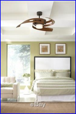 Fanimation FP6210OB Avaston 52 Ceiling Fan with Light Kit and Remote, ORB