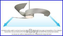 Fanimation FP7900MW Torto Matte White 52 Ceiling Fan withRemote & Light Kit