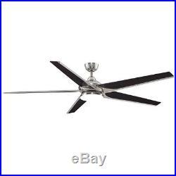 Fanimation FPD6236BN 72 Ceiling Fan with Blades, Light Kit, Downrod