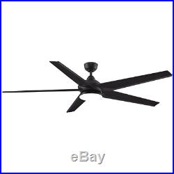 Fanimation FPD6236DZ 72 Ceiling Fan with Blades, Light Kit, Downrod