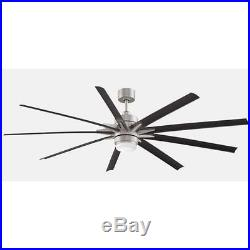 Fanimation FPD8149BNWBL Odyn 84 Ceiling Fan withBlades, Remote, & Light Kit