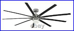 Fanimation FPD8149BNWBL Odyn Ceiling Fan with LED Light Kit and Remote 84