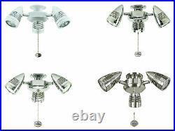 Fantasia ceiling fans Sorrento 3 spot adjustable fan light kit various colours