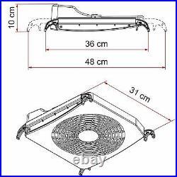 Fiamma Turbo Kit Turns Your Roof Light into Fan or Aspirator Motorhome