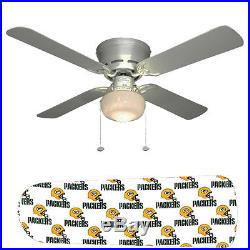 Green Bay Packers Ceiling Fan withLight Kit or Blades Only or Ceiling Lamp