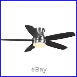 HDC Ashby Park 52 LED Brushed Nickel Ceiling Fan with Light Kit & Remote