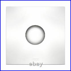 HPM EF100SQWE EXHAUST FAN KIT Strong Air Extraction Square White 100mm