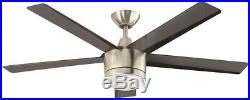 Hampton Bay 3574536 Merwry 52 In. Indoor Ceiling Fan With Led Dome Light Kit