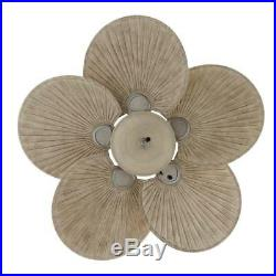 Hampton Bay 48 in. Indoor/Outdoor Cambridge Silver Ceiling Fan with Light Kit