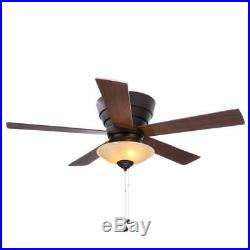 Hampton Bay 793231 Andross 48 in. Oil-Rubbed Bronze Ceiling Fan with Light Kit