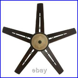 Hampton Bay Pendleton 52'' LED Indoor Oil Rubbed Bronze Ceiling Fan with Light Kit
