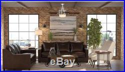 Hampton Bay Sedalia II 52 in. Indoor Brushed Nickel Ceiling Fan with Light Kit