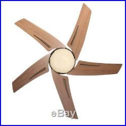 Hampton Bay Sidewinder 54 in. Indoor Oil-Rubbed Bronze Ceiling Fan withLight Kit