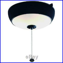 Hampton BayNatural Iron Ceiling Fan Audio Light Kit with Bluetooth Technology
