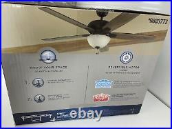 Harbor Breeze Cooperstown 62 Bronze Ceiling Fan with Light Kit 0883773