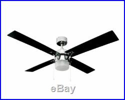 Heller 1300mm 4 Reversible Blade Ceiling Fan with Light kit STELLA