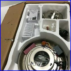 Home Decorators 44 Inch Ceiling Fan Windward LED Light Kit Brushed Nickel 51565