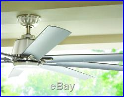 Home Decorators 72 In. Ceiling Fan With Light Kit Remote Control Indoor/Outdoor