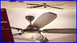 Home Decorators Amaretto 70 Ceiling Fan withLED Light Kit & Remote 1001668630