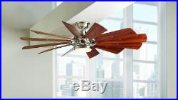 Home Decorators Ceiling Fan Light Kit Dimmable LED 60 in. 6-Speed Remote Control