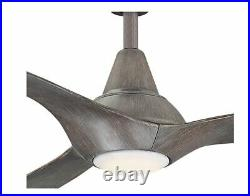 Home Decorators Tidal Breeze 56 in. LED Ceiling Fan with Light Kit Remote Control