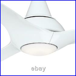 Home Decorators Tidal Breeze 60 in. LED Indoor White Ceiling Fan with Light Kit