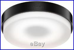 Home Lighting Dimmable LED Integrated White Glass Vault Ceiling Fan Light Kit