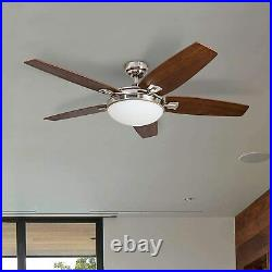 Honeywell Carmel 48-Inch Ceiling Fan with Integrated Light Kit & Remote Control