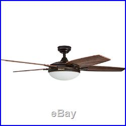 Honeywell Carmel 48-Inch Ceiling Fan with Integrated Light Kit and Remote Five