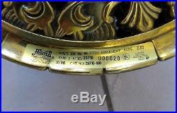 Hunter 1896 Art Noveau Ceiling Fan 52 With Light Kit model 23710 Rare 1996 Model