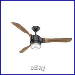 Hunter 59226 54 Ceiling Fan -3 Reversible Blades, LED Light Kit