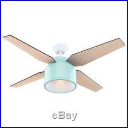 Hunter 59258 52 Ceiling Fan -4 Reversible Blades, LED Light Kit