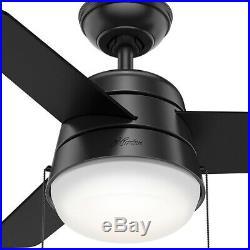 Hunter 59301 Aker 36 3 Blade Ceiling Fan Blades and LED Light Kit Included