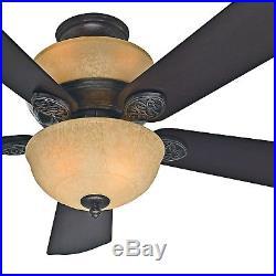 Hunter Fan 52 inch Snow White Ceiling Fan with Light Kit