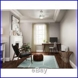 Hunter Fan Company Aker 32 Inch Indoor Ceiling Fan with LED Light Kit, White
