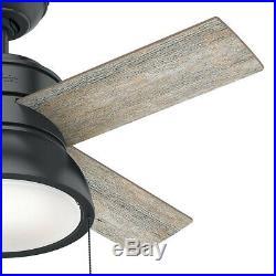 Hunter Loki 36 LED Loki 36 4 Blade Indoor Ceiling Fan LED Light Kit Included